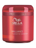 Wella Brilliance mask fint hår 150 ml
